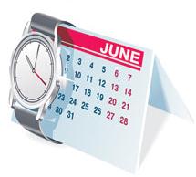 Bulbs-ties-watches-desk-calendar-notebook-seals-pen-vector-material2